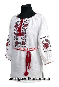 Женская вышиванка блузка W1095  купить в интернет магазине недорого 58b45c2f71a95