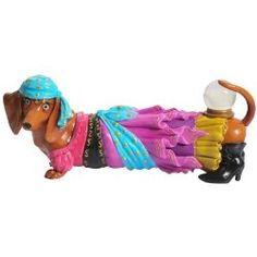 Hot Diggity Dachshund Dog Fortune Teller Gypsy Crystal Ball Figurine New 17952 Westland Giftware, Glass Barn Doors, Dog Items, Dachshund Love, Dog Bed, Puppy Love, Dachshunds, Fortune Teller, Weiner Dogs