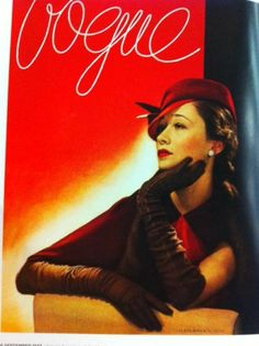 vogue-cover-1930s-woman-in-red-hat