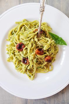 Single Serving Oil-Free Pesto