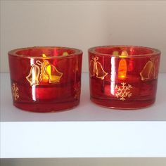 Shot Glass, Candle Holders, Hand Painted, Candles, Tableware, Dinnerware, Tablewares, Porta Velas, Candy