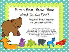 Speech Room News: Search results for Brown bear