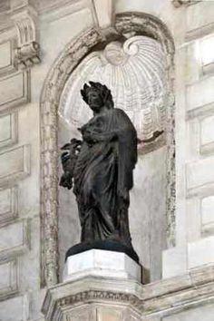 Centro Cultural da Justiça Eleitoral - escultor francês Mathurin Moreau (Dijon, França, 18/11/1822 – Paris, França, 14/02/1912).