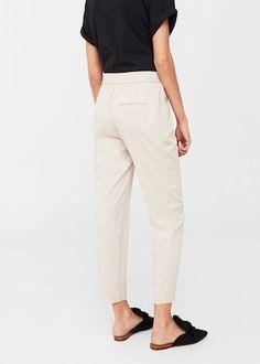Flowy trousers   MANGO