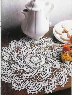 Half moon doily with diagram doilies pinterest diagram moon an entire book of beautiful crochet like this doily i know there are diagram patternsand there are patterns written in english ccuart Images