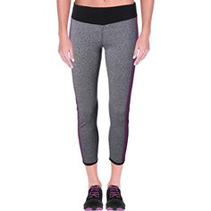 Pivaconis Womens Stretch Sheath Gym Running Sports High Waist Yoga Pants Legging Purple XS