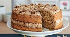Orechovo-kávová torta