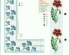 ponto-cruz-flores-4-500x400 78 gráficos de flores em ponto cruz para imprimir