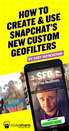 """In this Snapchat deck, I show you some ideas and thoughts that you can share with your team... I made a slideshare deck because """"hold out to snapchat types"""" love decks"""