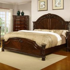 Fairfax Home Collections Patterson Panel Bed Size: California King Bed Furniture, Panel Bed, Cheap Bed Linen, Bed, Headboard Styles, Furniture, Bed Sizes, Home Decor, Home Collections