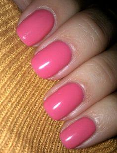 perfect pink nail polish