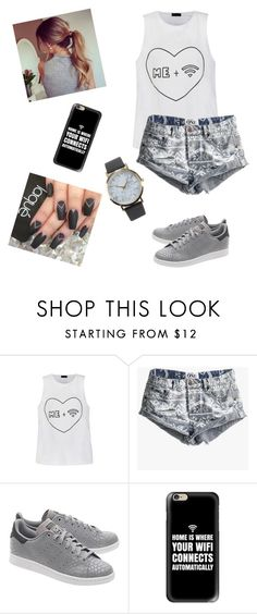 """""""Untitled #82"""" by mildabas ❤ liked on Polyvore featuring Ally Fashion, OneTeaspoon, adidas Originals, Casetify and NLY Accessories"""