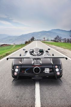 'Open Road' Pagani Zonda 760RS