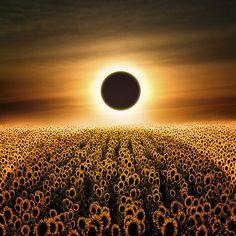 Eclipse, Umbria, Italy