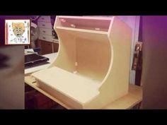 (7) Fabrication d'un bartop (how to make à bartop) - YouTube