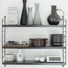 String Pocket, beautiful Swedish design, for kitchen, or (pocket)books