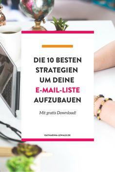 Leads generieren sollte für dein Business hohe Priorität haben - denn so gewinnst du neue Kunden. In diesem Artikel lernst du die allerbesten 10 Strategien kenne um mehr Leads zu generieren (Newsletter-Abonnenten zu gewinnen). Klicke um den Artikel zu lesen oder merke dir den Pin für später.