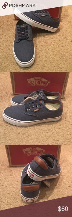 Twill Chima Ferguson Pro Vans New in box. Navy Vans Shoes Sneakers Tenis c50404a99bd