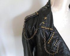leather studdd