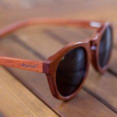 Onyx Wooden Sunglasses