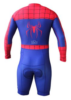 Podium Cycling Spiderman Inspired Cycling Skinsuit 661859f51