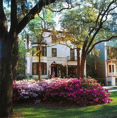 The Ballastone Inn in Savannah Ga.  A wonderful place to stay!