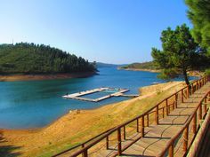 Castelo de Bode dam #Aljustrel, #Portugal to learn more about Portugal visit the Enjoy Portugal website: www.enjoyportugal.eu