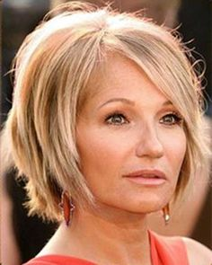 15 Bob Hairstyles for Older Women | http://www.short-haircut.com/15-bob-hairstyles-for-older-women.html