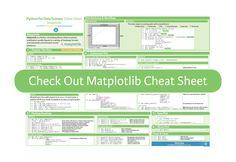 Python Matplotlib cheat sheet