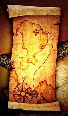 2075822-652675-old-treasure-map-on-a-vintage-background.jpg (283×480)
