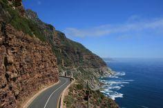 Chapman's Peak Drive – Cidade do Cabo, África do Sul