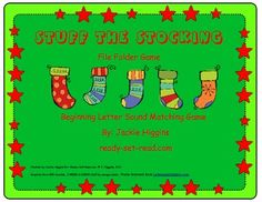 Stuff the Stocking: Beginning Letter Sound Game