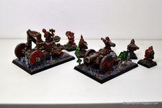 Warhammer FB | Dwarfs | dwarf Artillery #warhammer #ageofsigmar #aos #sigmar #wh #whfb #gw #gamesworkshop #wellofeternity #miniatures #wargaming #hobby #fantasy