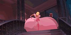 Which Disney dress was made for you? Lottie's is mine. It's pink and girly.