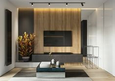 Design and visualization by Black Cube studio Max, Corona renderer, Photoshop Apartment Interior, Interior Design Living Room, Living Room Decor, Living Rooms, Tv Unit Interior Design, Tv Cabinet Design Modern, Modern Tv Room, Living Room Tv Unit Designs, Muebles Living