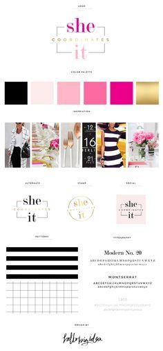 She Coordinates It  Brand Board — Hello Big Idea