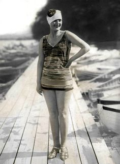 1927 Vintage Swimsuits