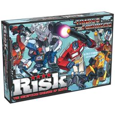 Risk Transformers Strategic Board Game