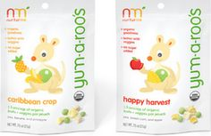 Free Roo Tattoo and Yum-a-Roo Baby Dried Fruits and Veggies Sample from NuturMe Organic