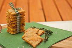 Annetts kulinarisches Tagebuch: Parmesan-Olivenöl-Cracker