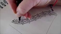 This pattern is created by Maria Thomas from Zentangle (T)