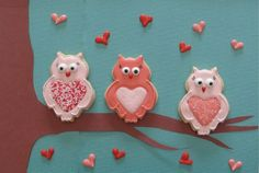 Decorated Valentine Cookies Sprinkles | Found on bakeitupanotch.com