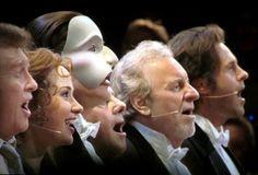 Michael Crawford, Sierra Boggess, Ramin Karimloo, Colm Wilkinson, | 25th Anniversary of The Phantom of the Opera