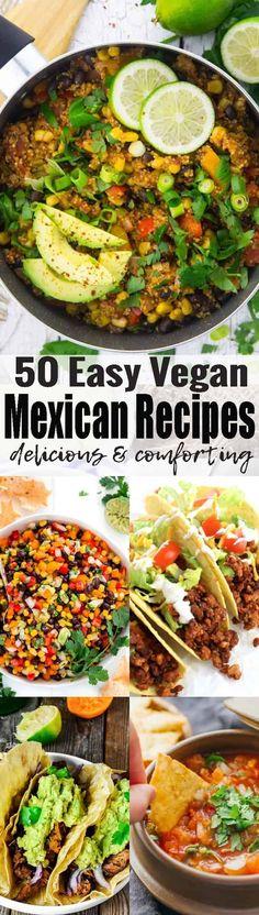 If you like Mexican food, you will love these 38 vegan Mexican recipes! We've got vegan tacos, vegan burritos, vegan enchilada, and so much more! Vegan comfort food at its best! Find more vegan recipes at veganheaven.org <3