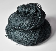 depressed thoughts - tussah silk - fingering weight