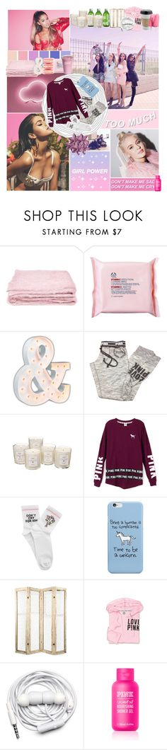 """""""☾I want some Starbucks☽"""" by on-a-daydream ❤ liked on Polyvore featuring Seed Design, abcDNA, The Body Shop, Vintage Marquee Lights, John Galliano, Victoria's Secret, Tocca, Victoria's Secret PINK, Yeah Bunny and Urbanears"""