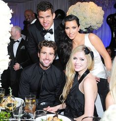 Brody Jenner has angrily denied reports that he and girlfriend of two years Avril.