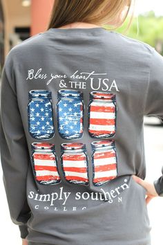 #summer #fashion / simply southern longsleeve