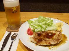 居酒屋あんぽんたん: [昼] 北本トマトカレー,  [夜] ポークソテー or 牡蠣唐揚