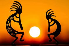 Kokopelli is a fertility deity, usually depicted as a humpbacked flute player who has been venerated by some Native American cultures in the Southwestern United States. Like most fertility deities, Kokopelli presides over both childbirth and agriculture. He is also a trickster god and represents the spirit of music.